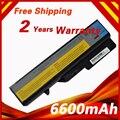 Batería del ordenador portátil para lenovo g460 g465 g475a g475gl g575 g570 B470 G470 G560 L09C6Y02 L09M6Y02 G575 G770 V360 V370A V470A L09L6Y02