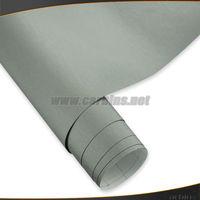Матовый серый Винил Auto Wrap эффектом металлик автомобиля стикер