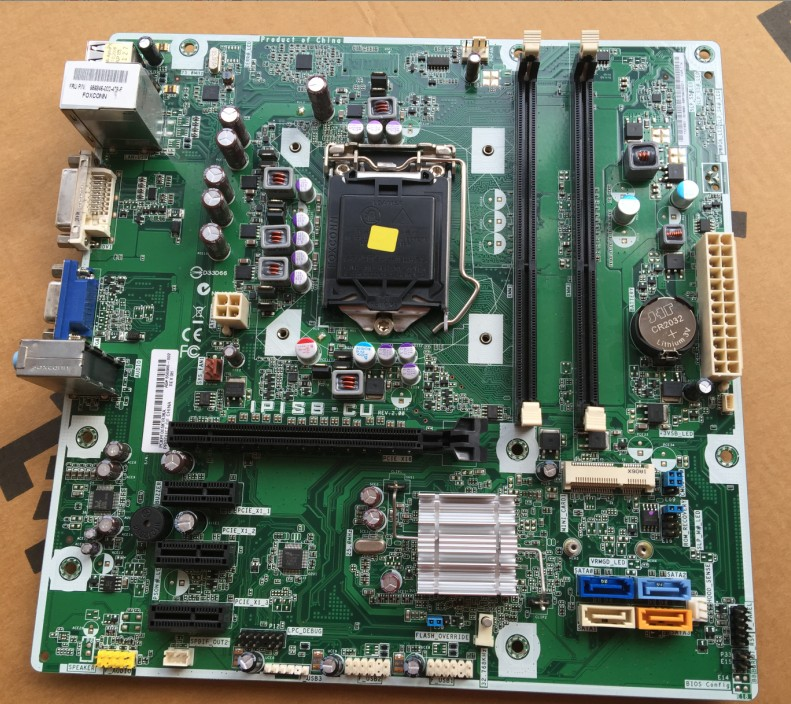 H61 motherboard supports 1155 pin 644016-001 656846-002 IPISB-CU DDR3