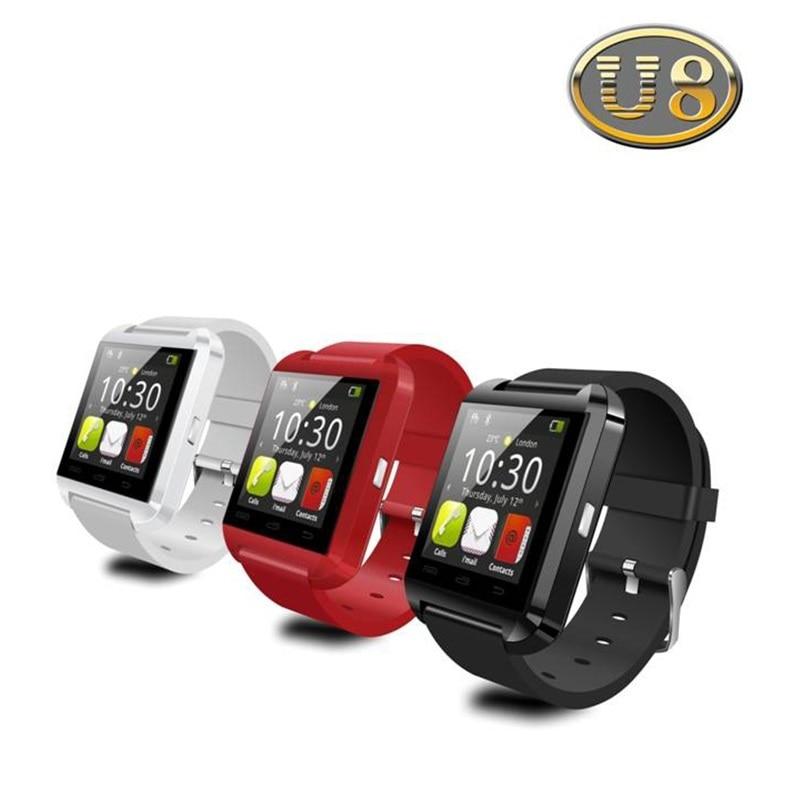 Bluetooth Watch U8 Smart watch WristWatch font b Smartwatch b font digital sport watches for Apple