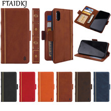 FTAIDKJ PU Leather Book Flip Kickstand Case For iPhone XS Max XR Wallet Stand Cover For iPhone X 10 7 6 6S 8 Plus 5 5S SE Coque цена и фото