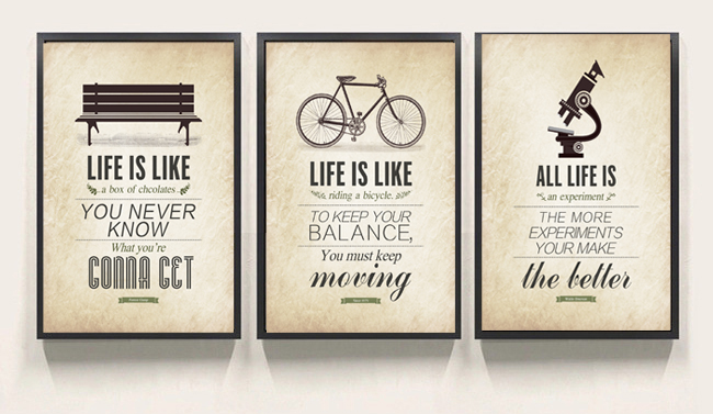 Delightful 3 Pcs Modern Minimalist Bedroom Wall Art Black White Motivational  Typography Quotes Large Poster Print Canvas Painting Unframed In Painting U0026  Calligraphy ...