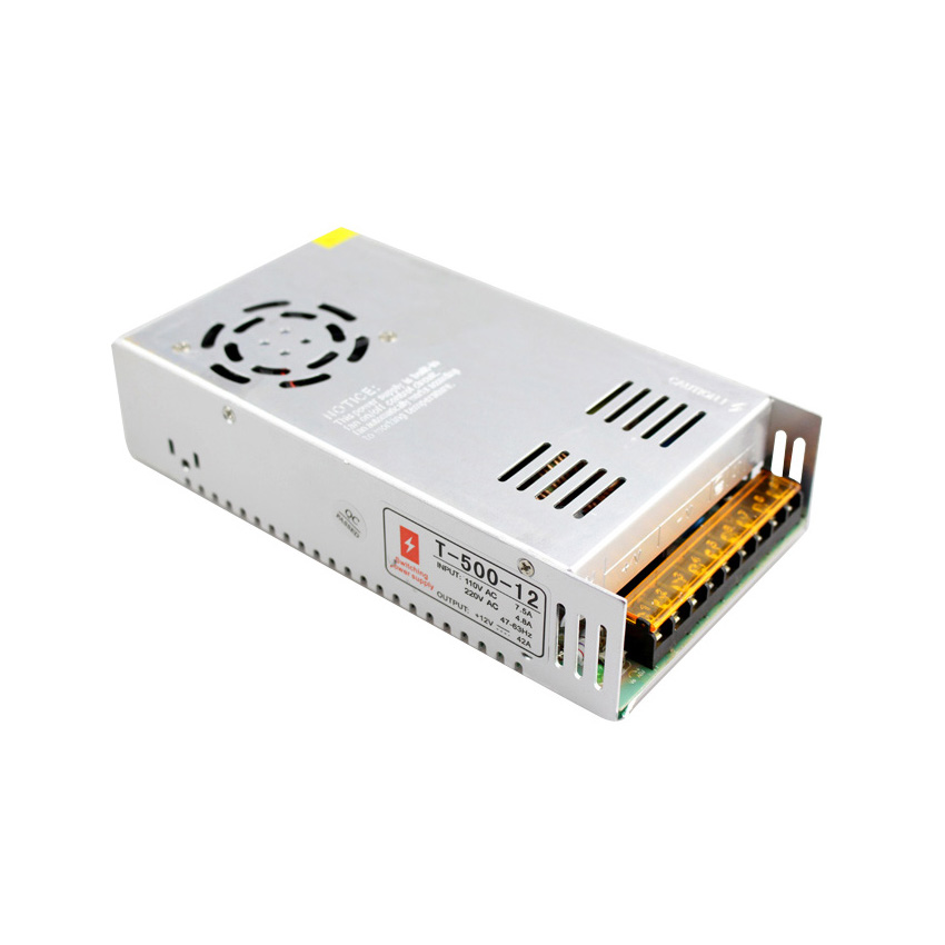 все цены на  12v led driver ac 110v 220v input dc 12v 40A output driver led transformers 500w power supply  онлайн
