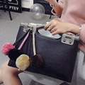 Women leather handbags 2016 early spring new casual trend shoulder bag