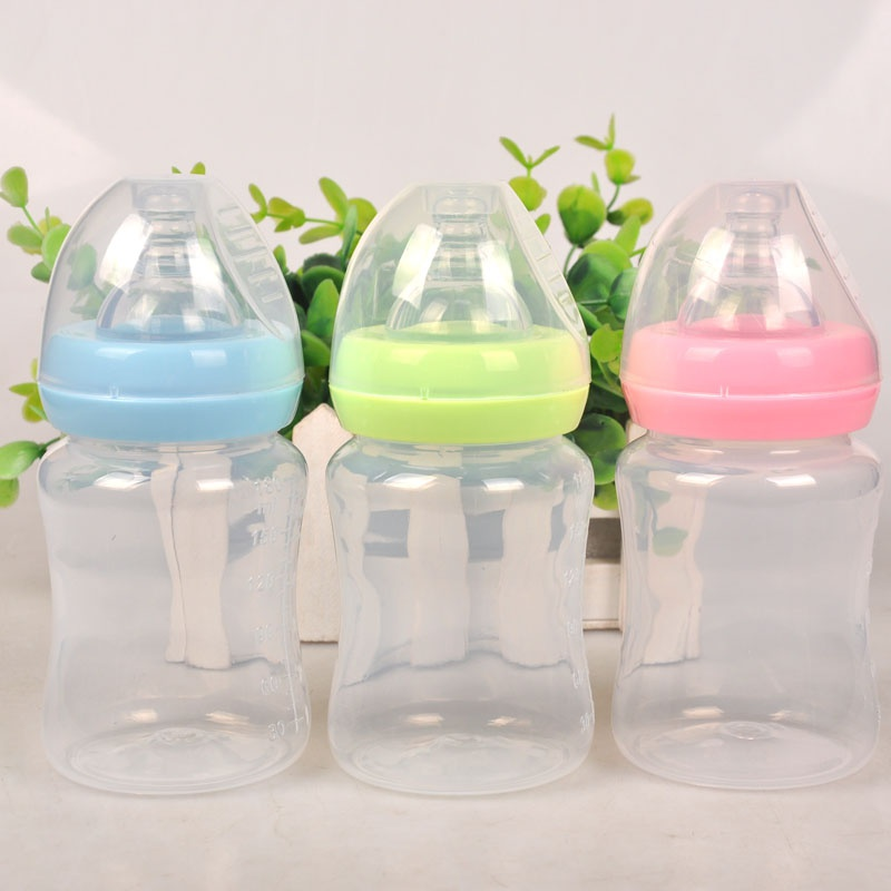 180mlborns Baby Feeding Bottle Baby Nursing Wide Mouth Bottle PP Nursing Training Bottle