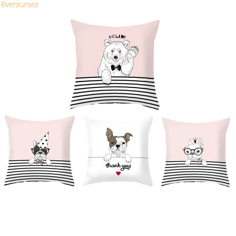 Detail Feedback Questions about Lovely French Bulldog Housse De