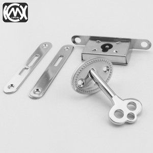 Image 3 - 10pcs KIMXIN spot sales Silver High grade woodenbox lock Jewelrybox hardware accessories Lock for Cigarbox gift box  W 018