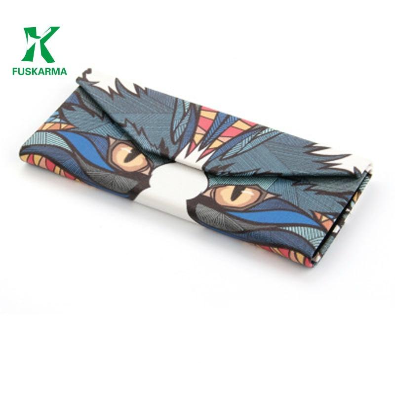 FUSKARMA Animal Retro Folds Eyewear Cases Bags Colorful Glasses Box, Sunglasses Box  Readingglasses Case Myopic Glasses Box