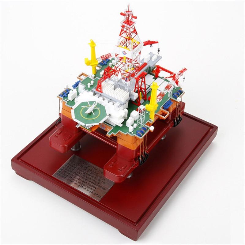 Bo 1:7 00 981 modèle de Simulation de modèle de plate forme de forage pétrolier Offshore semi submersible en eau profonde-in Figurines et miniatures from Maison & Animalerie    1
