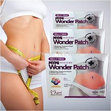 2017 Slender waist slimming cream hot sale korea slimming sticker 5pcs/pack safe burning weight loss Belly wing  wonder patch цена 2017
