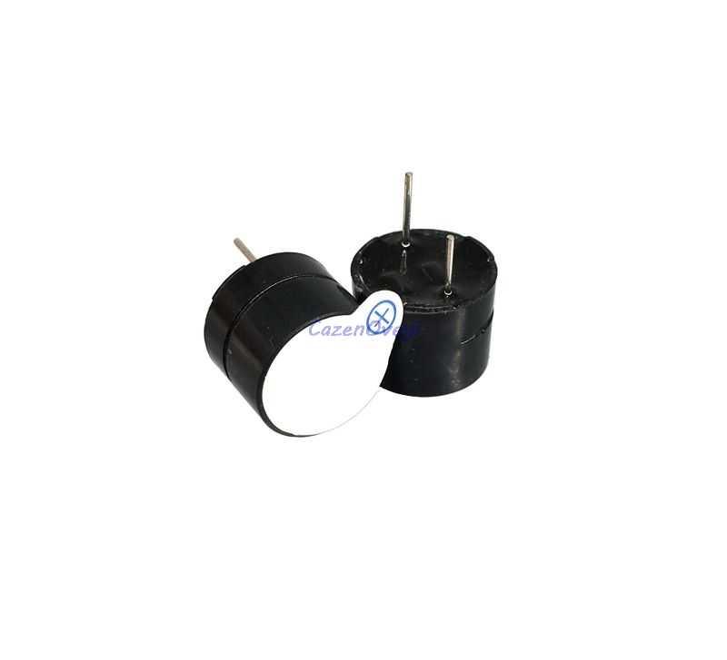 100 шт./лот 5 в активный звуковой сигнал Магнитный длинный непрерывный звуковой сигнал 12*9,5 мм