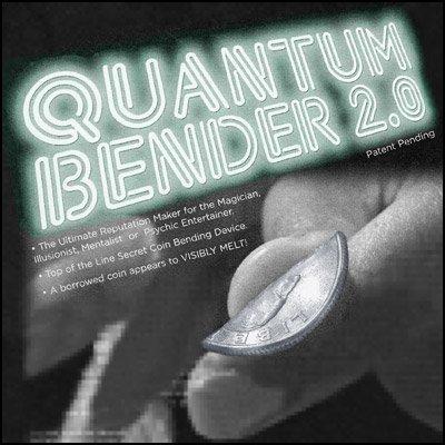 Quantum Bender 2.0 par John T. Sheets-close-up coin tour de magie/gros