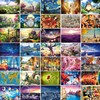 The Cartoon Wooden Puzzle 1000 Pieces Ersion Jigsaw Puzzle White Card Adult Children S Educational Toys