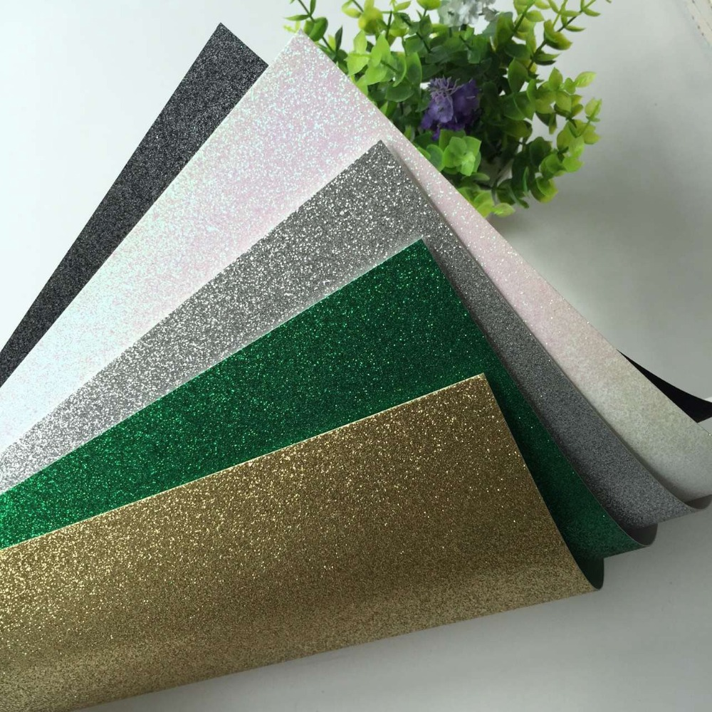 1500pcs handmade 300gsm 12 12 glitter paper cardstock for wedding decoration and party decoration