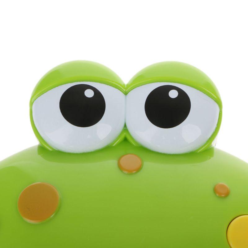 Frog Bubble Maker Bath Toys Crab Bubble Maker Toys Music Bathtub Kids Bathroom Newborn Gift Water Toys
