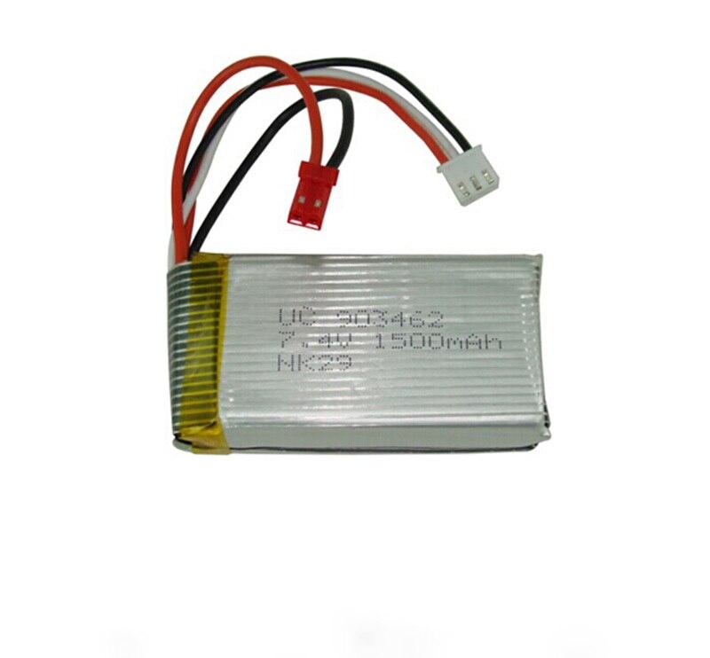 Free shipping 3pcs Lot 7 4V 1500mAh Battery For WL Toys v913 L949 L959 L202 WL912