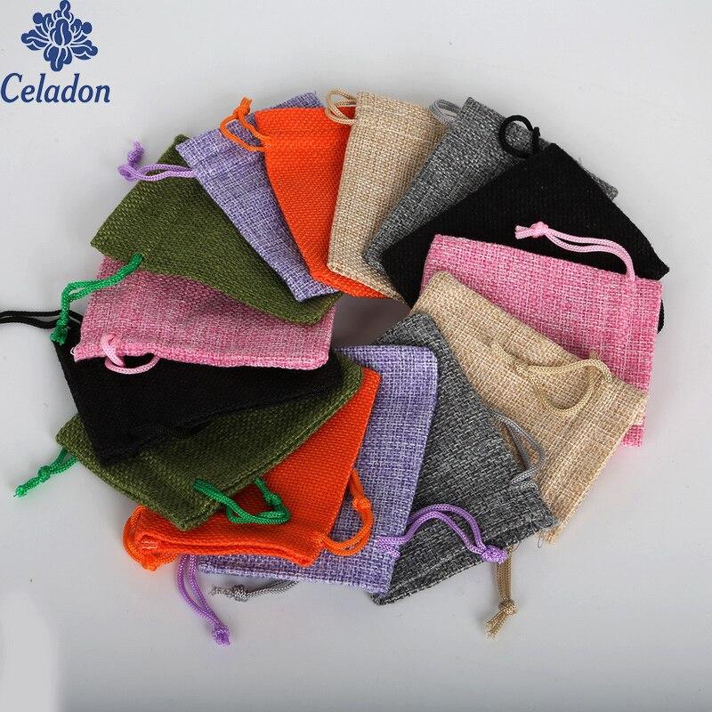 Винтажные Подарочные мешки для конфет, 7x9 см, 5 шт. bag brand bag fbag wedding   АлиЭкспресс