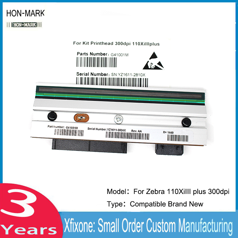 HON-MARK G41001M 110xiIII Thermal Printer Compatible New Printhead For Zebra 110XiIII 110xiIII plus 300dpi Barcode Printer степлер мебельный gross 41001