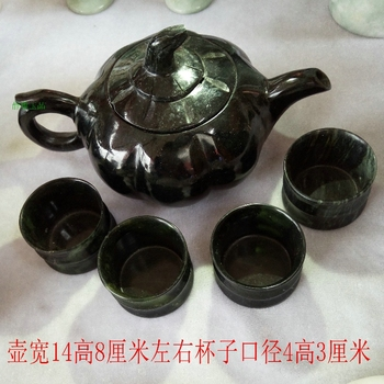 Chinese kung fu tea tea with glass teapot and tea cup A set