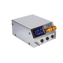 By EPACKET LCD Display Digital Stainless Steel Dual Tattoo Machine Power Supply 54P100V-240V