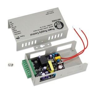 Image 4 - Controlador da fonte de alimentação, controlador da fonte de alimentação do controle de acesso dc 12v 3a/5a ac90 ~ 260v entrada sem/saída nc para todos os tipos de bloqueio com atraso de tempo