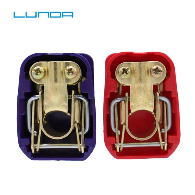 LUNDA Car battery Connector Battery jump starte Quick Disconnect  Battery Terminal Connector with Caps Top Posts batteries