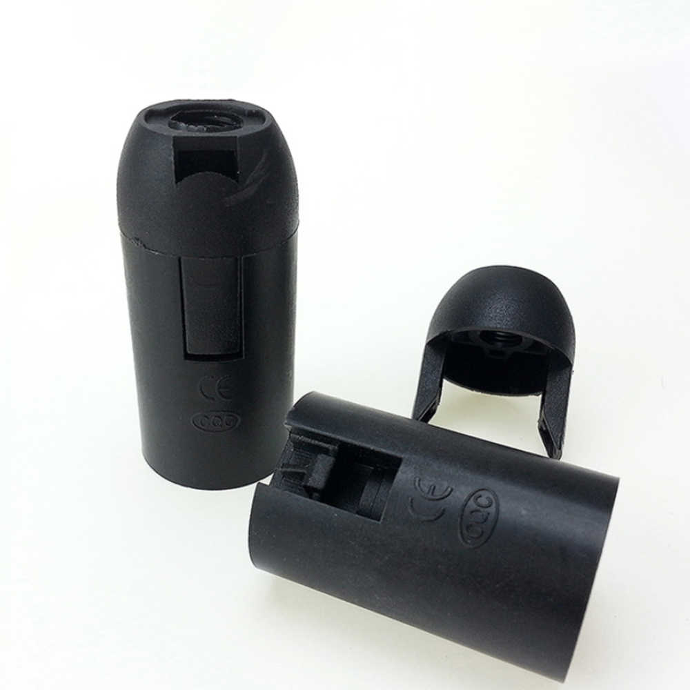 10PCS/Lot lighting accessories E14 E27 lamp holder  Holder accessori  Lamp socket  luminaire  lampholder flexible