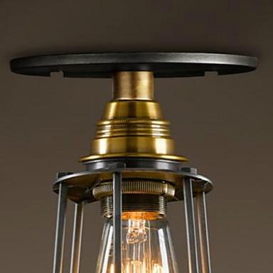 Europski stil Retro Vintage Edison stropna svjetiljka potkrovlje - Unutarnja rasvjeta - Foto 5