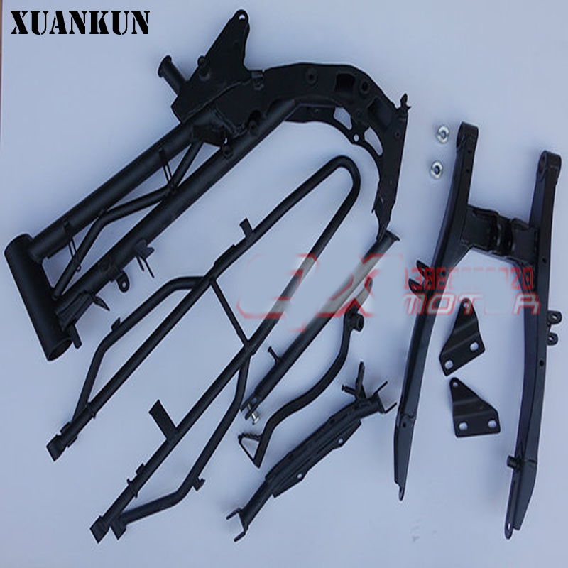 XUANKUN  CRF50 Off - Road Motorcycle Accessories Frame Assembly Bouble - Beam Off - Road Motorcycle Frame xuankun ktm 250 xtr250 off road motorcycle full set of plastic shells