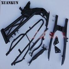 XUANKUN CRF50 внедорожные аксессуары для мотоциклетной рамы сборки мягкое-балки внедорожные мотоциклетные рамки