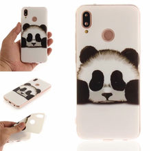 Soft TPU+IMD Cover For Coque Huawei P20 Lite Case Back Cover sex girl lion tiger owl Fundas For Huawei P20 Lite(China)