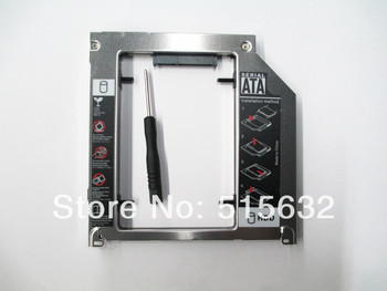For Apple MacBook Pro A1278 A1286 A1297 2nd 9.5mm SATA HDD SSD Caddy Adapter Bay