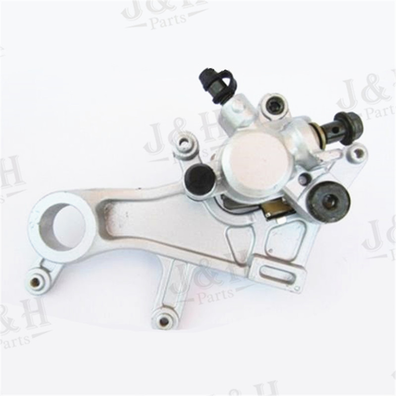Rear Brake Caliper with Good Pads For 2004-2012 CR125 CR250 CRF250 CRF450 X R xmotos  parts Free shipping rear brake caliper mounting with pad for polaris trail boss 325 2000 2002 polaris atv 2003 2004 trail boss 330 brake caliper