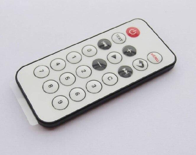 Бесплатная доставка 20 ключ мини-пульт дистанционного управления небольшой инфракрасный пульт дистанционного управления