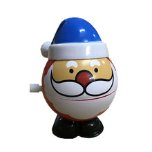 Wind Up Toys Christmas Santa Claus Wind Up Walking Toy Cartoon Gift For Toddlers Random Color