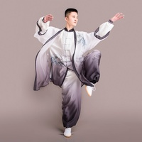 Taichi uniform tai chi clothing male men tai chi uniform kung fu martial arts clothing loose fit sports sets DD1620