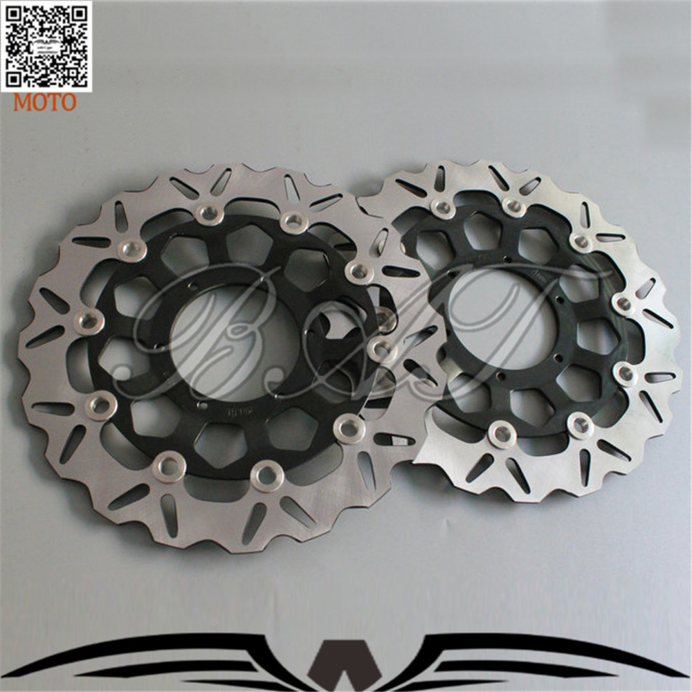 Motorcycle Front Brake Disc Brake Rotors For Honda CBR600RR 2003 2004 2005 2006 2007 2008 2009 2010 2011 2012 2013 2014 aftermarket free shipping motorcycle parts eliminator tidy tail for 2006 2007 2008 fz6 fazer 2007 2008b lack