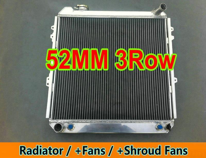 4 Rows Aluminum Radiator For TOYOTA Pickup 4Runner 4WD 3.0L V6 1988-1995 AT//MT
