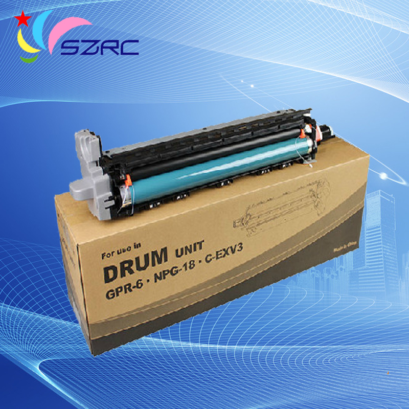 High quality NPG-18 GPR-6 C-EXV3 drum unit compatible for canon iR2200 2220 2250 2800 2850 3300 3320 3350 high quality gpr 18 npg 28 drum unit compatible for canon ir2016 ir2018 ir2020 ir2022 ir2025 ir2030 ir2318l 2016j ir2320 ir2420