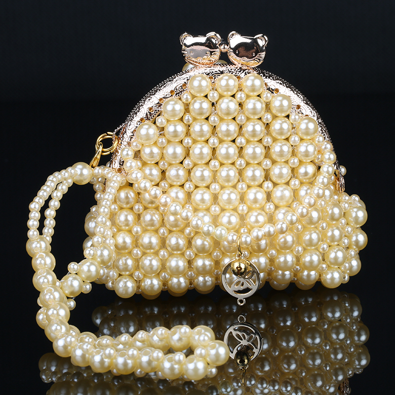 Detail Feedback Questions about Women Mini Pearl Beaded Bag Purse Metal  Clutch Bags Handbags Cute Chain Package New Design on Aliexpress.com |  alibaba group