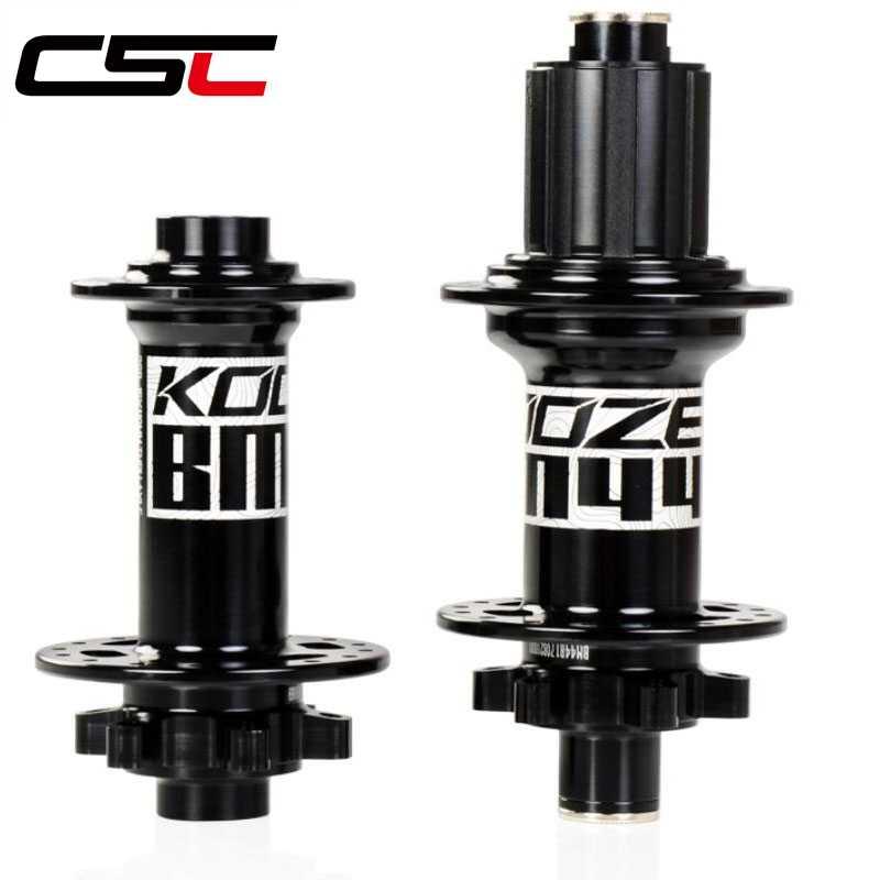 "CSC Koozer BM440 רכזות אופני הרי MTB BMX XC AM שומן אופניים 15x110mmshuiyis BOOST 12x148 מ""מ 11 s 32 חורים Thru סרנים XD אופני רכזת"