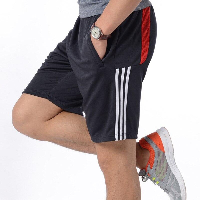 Sommer Neue Gym Herren Sport Laufen Shorts Schnell Trocknend Streifen Crossfit Kurze Hosen GYM Tragen Männer Fußball Tennis Training Strand shorts