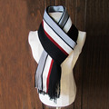 1 шт./лот 180x35 см мужская полосатый вязать заклинание цвет мужской Бизнес шарф шарфы из шерсти