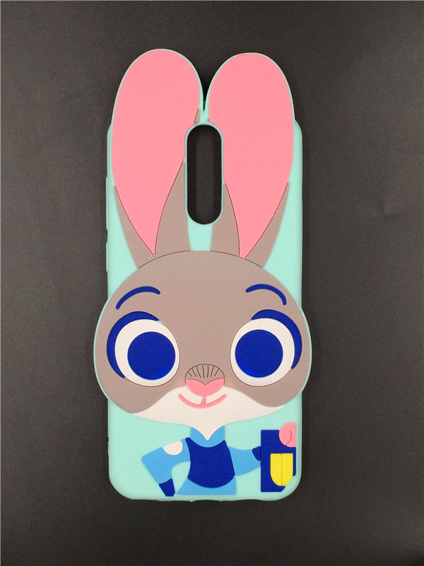 For Huawei Mate 10 Lite 3D Silicon Cat Cartoon Soft Rubber Phone Cover Case For Huawei Nova 2I / Mate 10Lite /Honor 9I 5.9