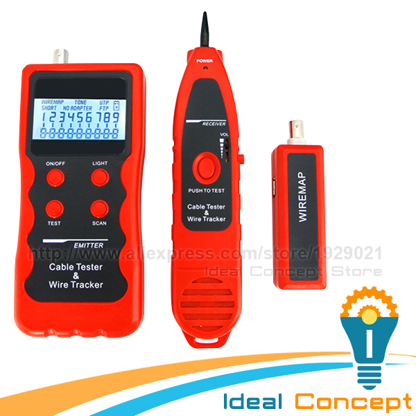 все цены на Digital 5 Ports Cable Tester RJ45 RJ11 BNC Hunting Sorting 5E 6E Telephone LAN Wire Coaxial Checker онлайн