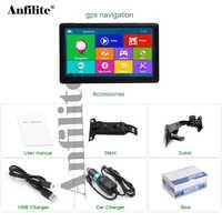 Anfilite-Navegador de gps para coche con pantalla táctil capacitiva, 7 pulgadas, HD, 800x480, 800MHZ, Windows wince, Ce, 6,0, 256M, 8GB, navegación GPS para camiones