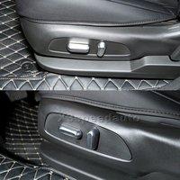 Ücretsiz Nakliye Araba Koltuğu Ayarı Equinox Için Chevrolet Holden 2018 Düğme Kapak Trim 4 adet