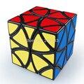 Frete Grátis! Lanlan LL Estilo Borboleta helicóptero Cubo Mágico Puzzle Cube (Borda Preta)