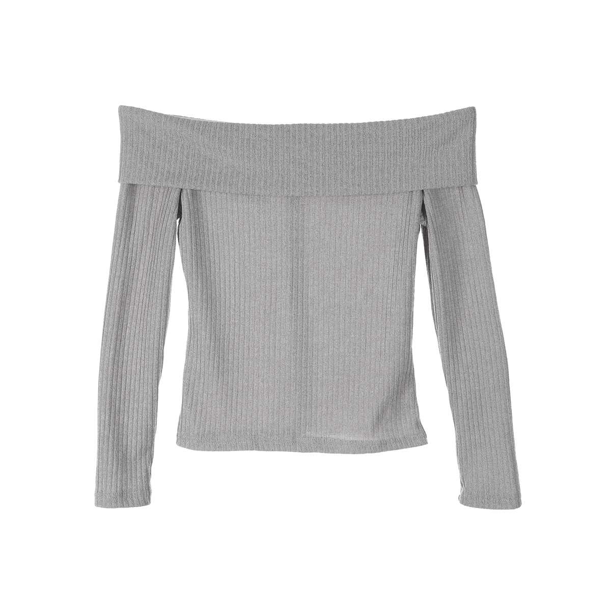 1f4e6c37741c4 Womens T Shirt Off Shoulder Baggy Long Sleeve Solid Tops Sexy Ladies Casual  Slim Knitted Pullover Jumper Short Top-in T-Shirts from Women s Clothing ...