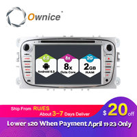 Ownice C500 2Din Android 6 0 4 Core Car DVD Player For FORD Mondeo S MAX